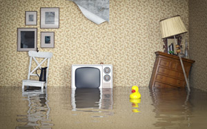 Water Damage Caused By Flooding,
